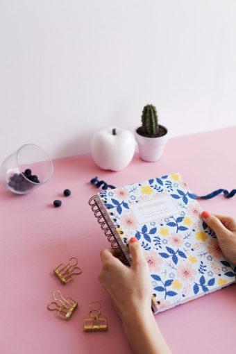 Cuaderno Flores Charuca