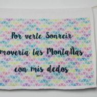 Toalla Por verte sonreír Original Custom