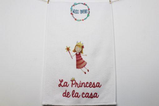 Toalla La princesa de la casa Original Custom