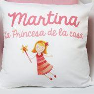 Cojín La princesa de la casa Original Custom