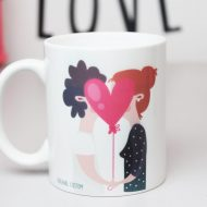 Taza beso Original Custom